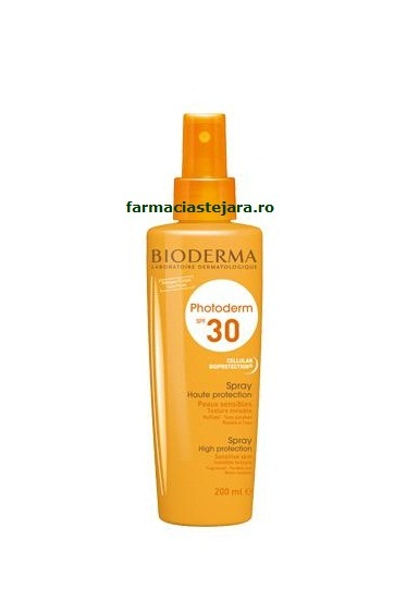 Bioderma Photoderm Bronze SPF30 Spray protectie solara 200 ml