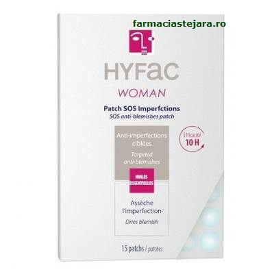 Hyfac Woman Plasturi SOS anti-imperfectiuni x 15
