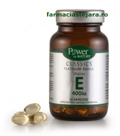 Vitamina E Power of nature Classics Platinum x30 capsule