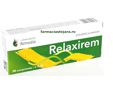 Lab.Remedia Relaxirem X 30 comprimate