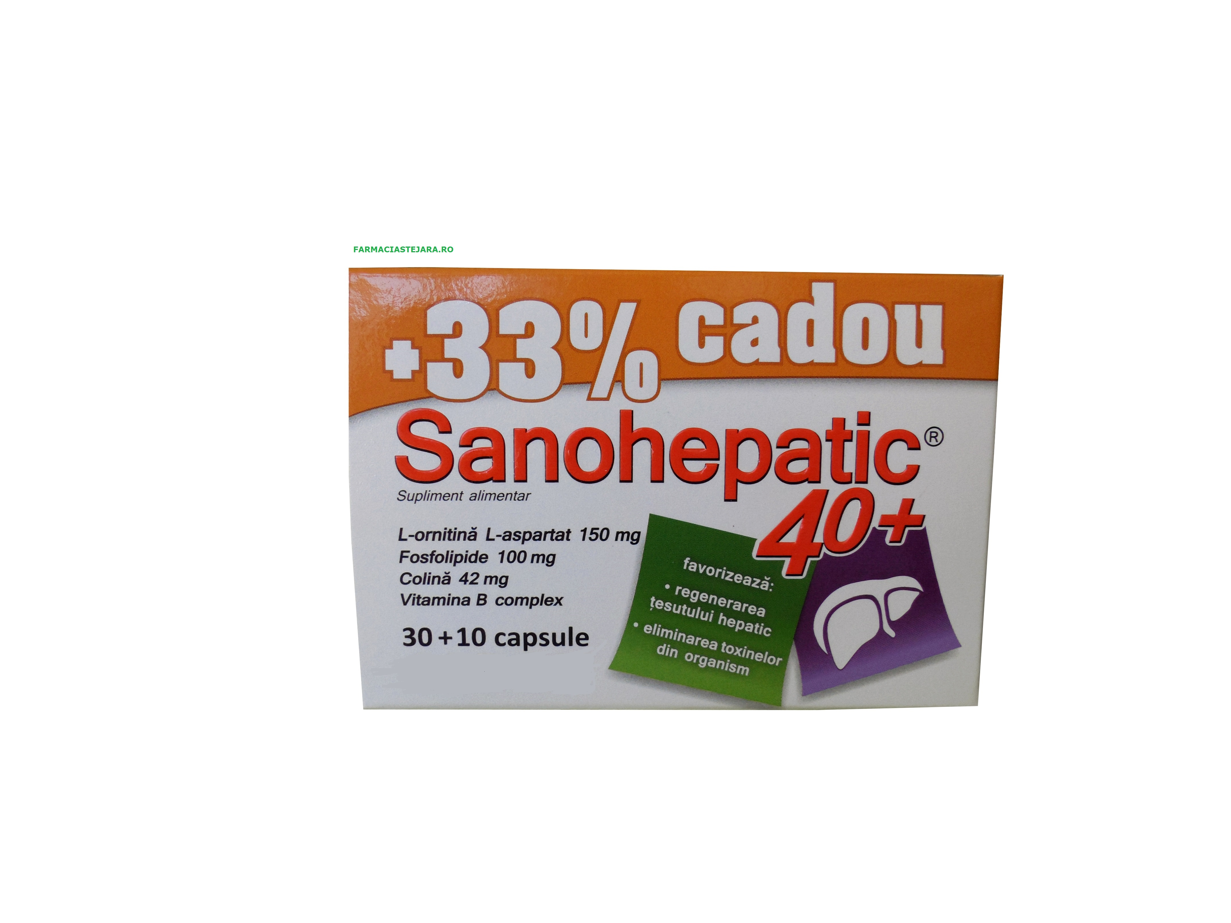 Sanohepatic 40+ x 30 capsule