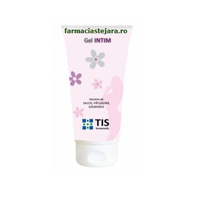 TIS Gel Intim lubrefiant cu extracte vegetale 60ml