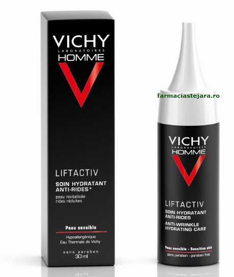 Vichy Homme Liftactiv  crema impotriva ridurilor si  oboselii