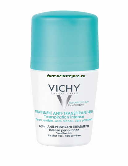 Vichy Deo Roll-On eficacitate 48 ore