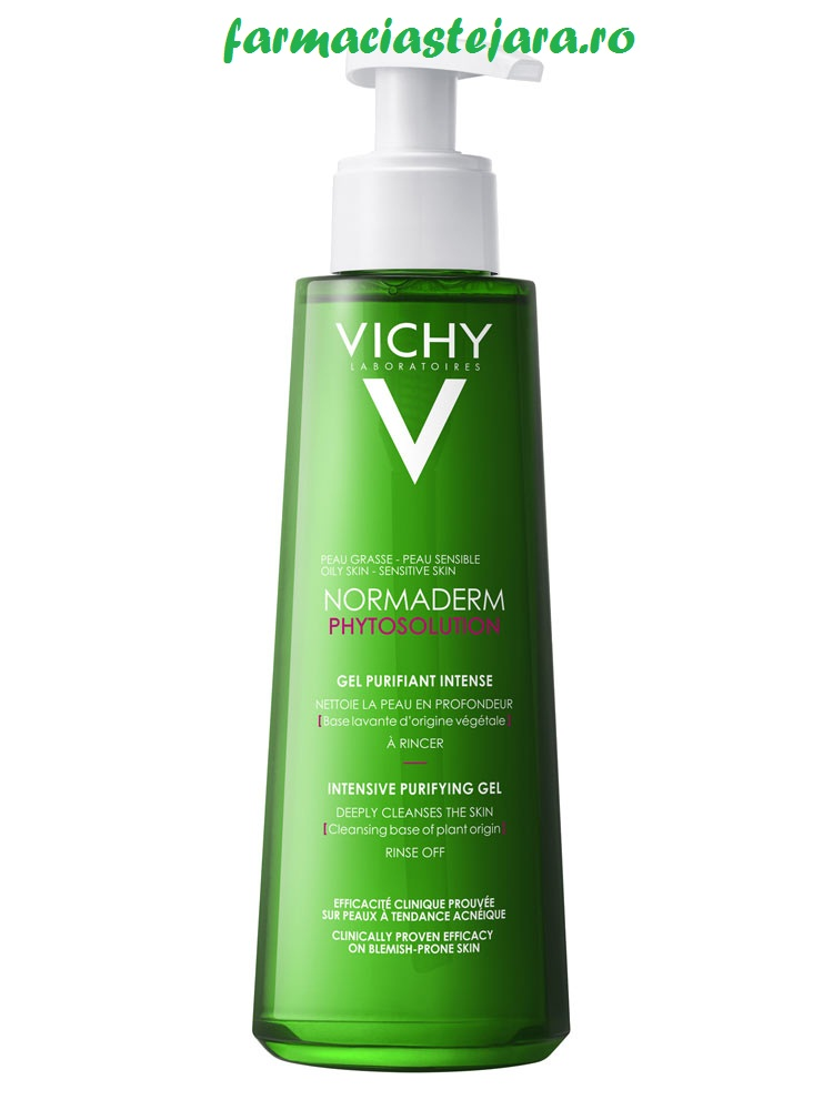 Vichy Normaderm Phytosolution gel de curatare purifiant